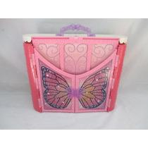 Castelo Barbie Butterfly E A Princesa Fairy Maleta Quarto