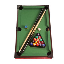 Mesa De Bilhar Jogo Sinuca Snooker Taco Bola Triangulo