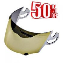 Viseira Arai Gold Rx-7 Corsair / Chaser 50% Off - Onmoto!