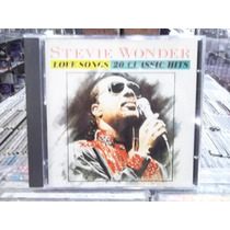 Stevie Wonder Love Songs 20 Classics Hits Cd Original Impecá