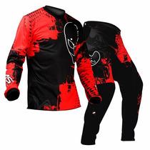 Combo Ims Action 2014 - Camisa E Calça Vermelha