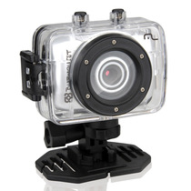 Câmera Filmadora Hd Prova Dagua Multilaser Sportcam Capacete