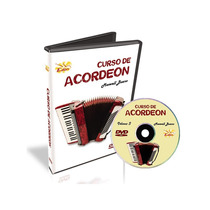 Curso Dvd Video Aula Acordeon Iniciante Maxwell Bueno Vol.3
