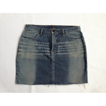 Mini Saia Jeans Opera Rock Tam 38