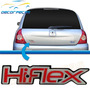 Emblema Hiflex Hi-flex Clio Logan Sandero Scenic Duster
