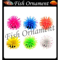 Enfeite Silicone Soma 6 Anemona P Colorida Fish Ornament