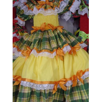 Vestidos Festa Junina São João Já Enfeitados Luxuosos