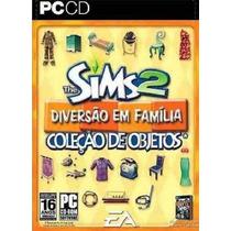 Game Pc Cd - The Sims 2 Diversão Em Familia - Original Novo