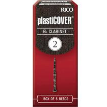 Palheta Plasticover Clarinete Bb 2 Rico Rrp05bcl200 C/ 5