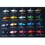 Passarinho De Papel Origami Tsuru 8cm Com 100 Unidades