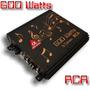 Amplificador Rca Alfa Amps 600w Rms 3 Canais - Sub E Stéreo