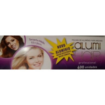 Folhas De Papel Aluminio Para Mechas Alumihair 400