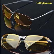 Óculos Alloy Uso Noturno Drive Night Vision Proteção Uv 400