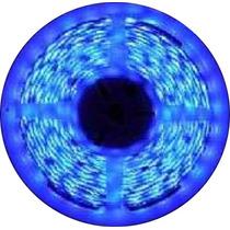 Fita De Led Azul C/ Silicone 300 Leds Smd 3528 12v Rolo 5m