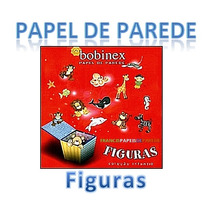Papel De Parede Infantil Figuras Bobinex Vinilizado