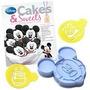 Forma De Silicone Mickey Disney Oficial Forma Bolo