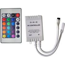 Controlador 24 Teclas Da Fita Led Rgb C/ Controle Remoto
