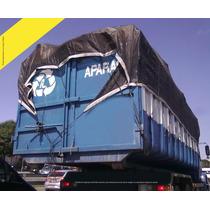 Lona Tela Caminhão Caçambas Apara Entulho Construção 8 X 4 M