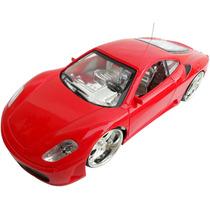Carrinho De Controle Remoto Miniatura Ferrari Acende Farol