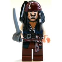 Lego Jack Sparrow Piratas Do Caribe Original Novo Com Espada