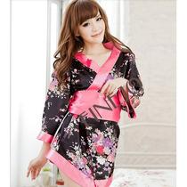 Kimono Sexy Fantasia De Gueixa Frete Gratis Brasil