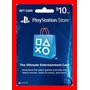 Playstation Network Card Cartão Psn $10  + Envio Imediato