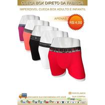 Kit Com 12 Cuecas Box Por Apenas 48,00 Direto De Nossa Fabri