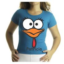 Camiseta Galinha Pintadinha, Personalizamos Seu Nome