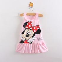 Vestido Mickey Mouse Minnie Importado Pronta Entrega Brasil