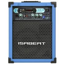 Caixa De Som Multiuso 20 Watts Com Bluetooth E Usb E Fm Azul