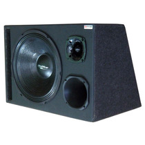 Caixa Som Trio Woofer 15 + Corneta + Super Tweeter 550 Watts