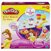 Kit Massinhas Play-doh Princesa Belle Magical 38539 Hasbro