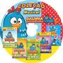 Coleção Galinha Pintadinha - 5 Dvds Em 1 - 1 2 3 4 E Cinema