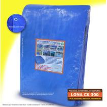 Capa Lona Piscina 6 X 4 Azul Barco Telhado Direto Da Fabrica