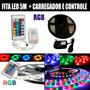 Fita Led 5m Rgb - Piscina / Armario / Sanca / Moto / Carro
