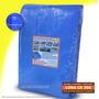Capa Lona 3x3 Azul Piscina Cobertura Caminhão Reforçada