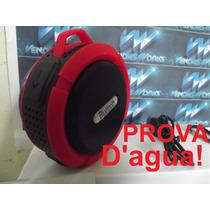 Caixa De Som Prova Dagua Bluetooth, Iphone, Samsung F.gratis