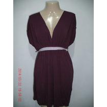 Lindo Vestido Em Viscose - Jera Tam; M R$ 40,00
