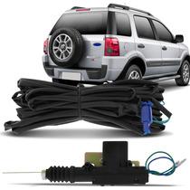 Trava Elétrica De Porta Malas Ecosport 2003 A 2012 Kit 3 Pçs
