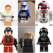 Kit Com 3 Bonecos Da Série Star Wars Similar Lego