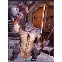 Lord Ring - Senhor Aneis - Cave Troll - Eletronico - Toy Biz