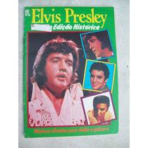 Revista:elvis Presley Edição Histórica - Letras Cifradas