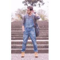 Macacão Masculino Black Jeans