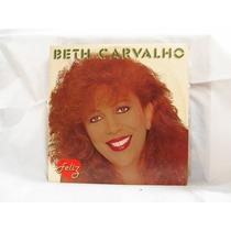 Lp Beth Carvalho Feliz Samba Ótimo Estado