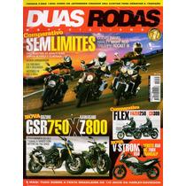 Duas Rodas N°452 Mai/2013 Cb300 Gsr750 Ducati Diavel V-strom