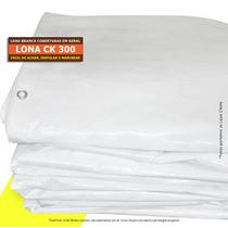 Lona 6 X 5 M Branca Cobertura Multi Uso Barco Telhado Evento