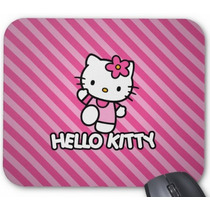 Mouse Pad Hello Kitty Fundo Rosa*