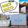Lona 3x3 Branca Cobertura Tenda Projetor Telão Gazebo 300mic