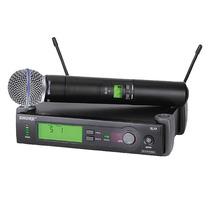 Microfone Shure Slx 24 - Slx24 Supercardióide 100% - Id8888