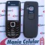 Carcaça Nokia 3120 Classic Preto Completa C/ Teclado